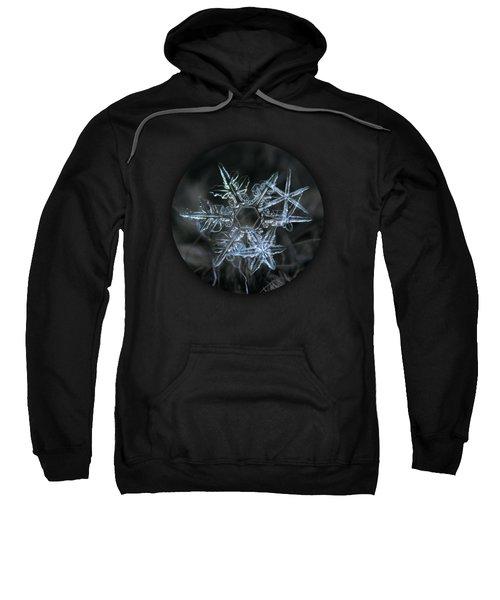 Snowflake Of 19 March 2013 Sweatshirt