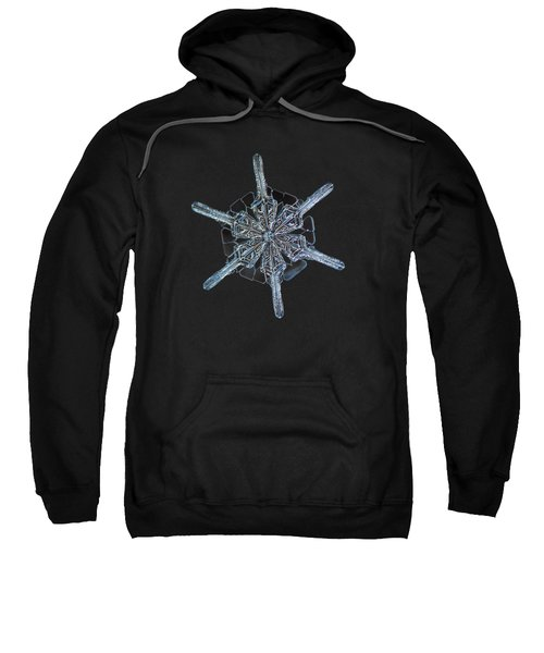 Snowflake Photo - Steering Wheel Sweatshirt