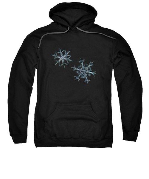 Snowflake Photo - When Winters Meets - 2 Sweatshirt