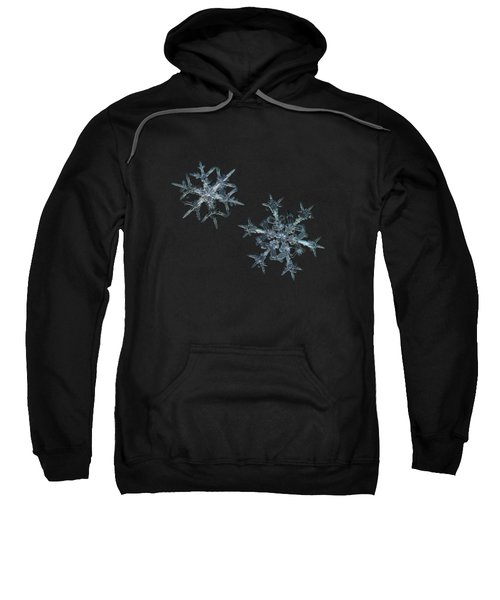 Snowflake Photo - When Winters Meets - 2 Sweatshirt