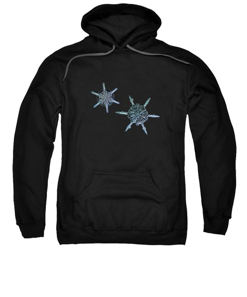 Snowflake Photo - When Winters Meets Sweatshirt