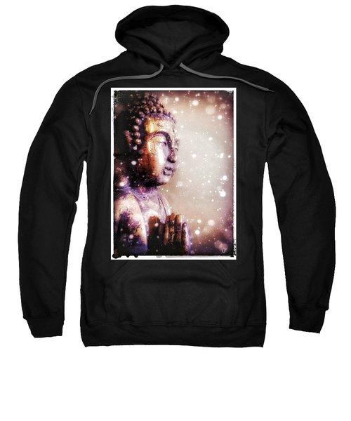 Snowy Buddha Sweatshirt