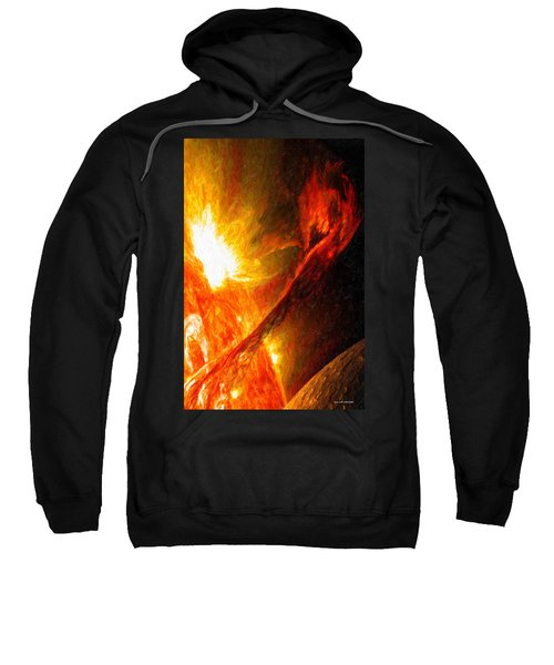 Solar Mass Ejection Sweatshirt