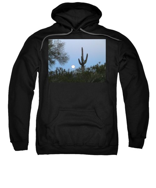 Sonoran Desert Moonset Sweatshirt
