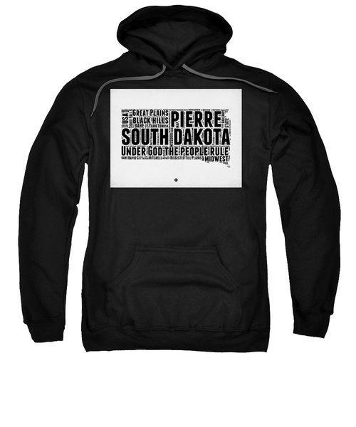 South Dakota Word Cloud 1 Sweatshirt