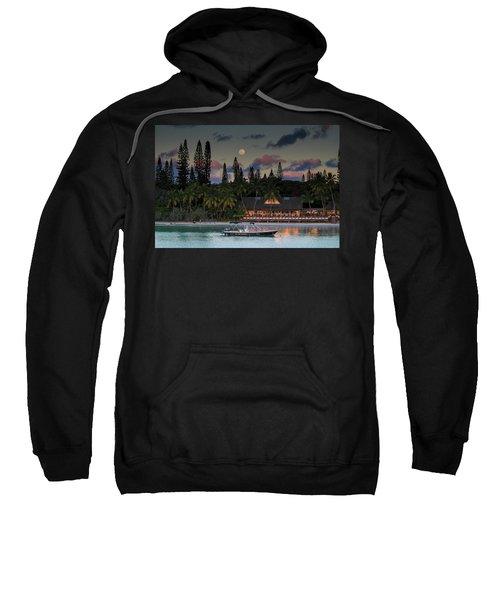 South Pacific Moonrise Sweatshirt