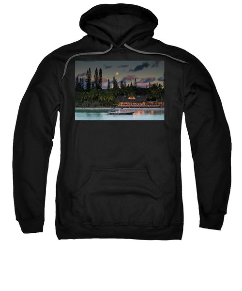 South Pacific Moonrise Sweatshirt