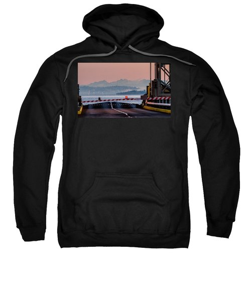 Southworth Ferry Terminal - End Of State Highway 160 Sweatshirt