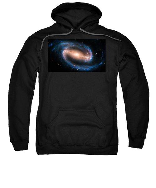 Space Image Barred Spiral Galaxy Ngc 1300 Sweatshirt by Matthias Hauser