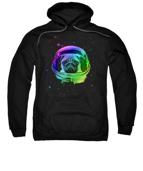 Space Pug Sweatshirt