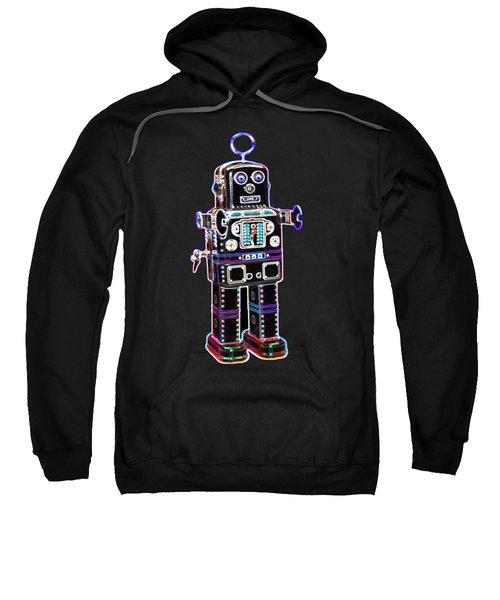 Spaceman Robot Sweatshirt