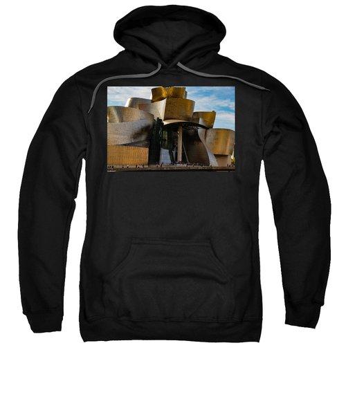 The Guggenheim Museum Spain Bilbao  Sweatshirt