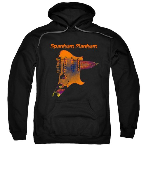 Sweatshirt featuring the photograph Spankum Plankum by Guitar Wacky