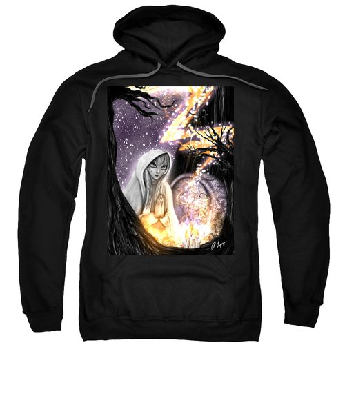 Spiritual Ghost Fantasy Art Sweatshirt