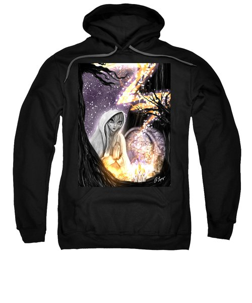 Spiritual Ghost Fantasy Art Sweatshirt
