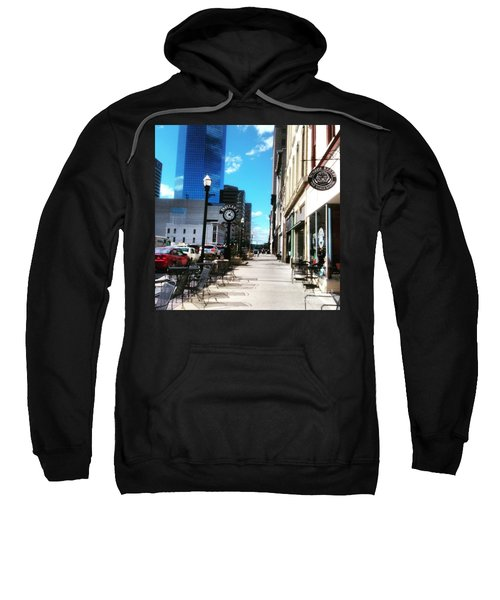 Spring Day In Downtown Lexington, Ky Sweatshirt