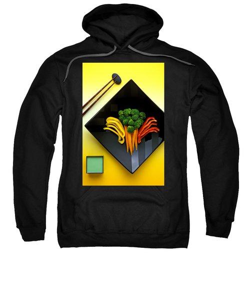 Square Plate Sweatshirt