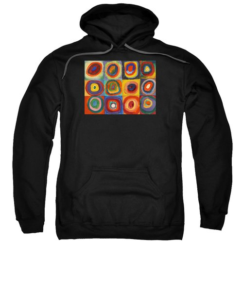 Squares With Concentric Circles Sweatshirt