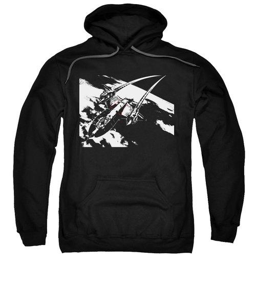 Sr-71 Flying High Sweatshirt
