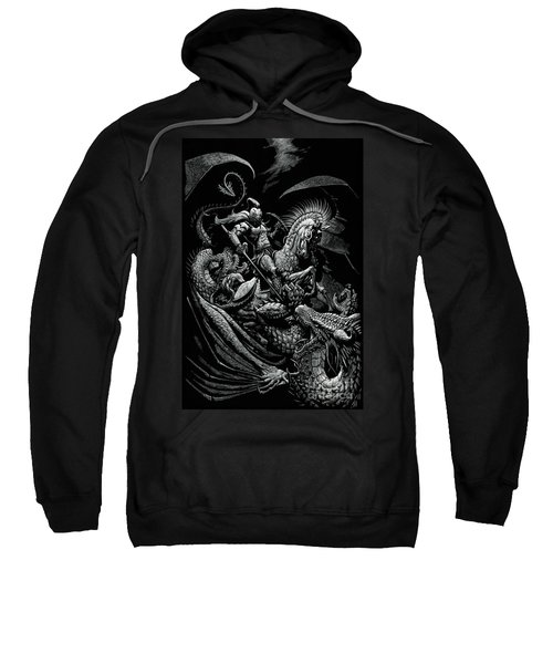 St. George And The Dragon Sweatshirt