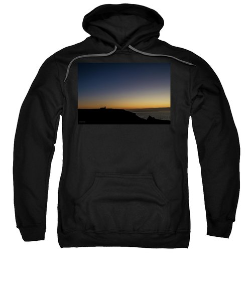 St. Materiana's Church, Tintagel Sweatshirt