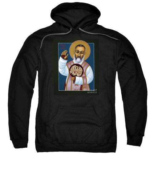 St Padre Pio Mother Pelican 047 Sweatshirt