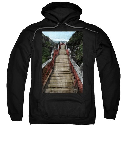 Stairs To Bliss Sweatshirt