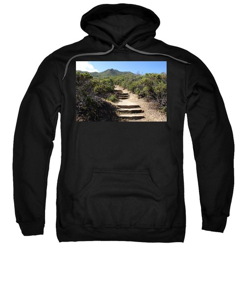 Stairway To Heaven On Mt Tamalpais Sweatshirt