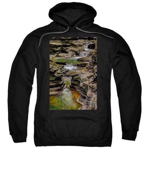 Stairway Waterfalls Sweatshirt