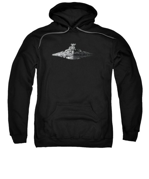 Star Destroyer Sweatshirt by Ian King