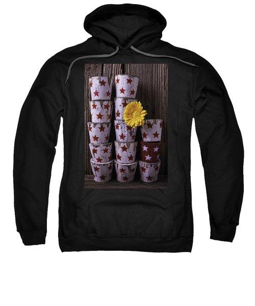 Star Planter Cups Sweatshirt