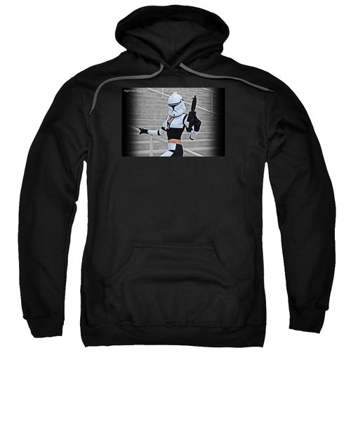 Star Wars By Knight 2000 Photography - Hello Guns Sweatshirt