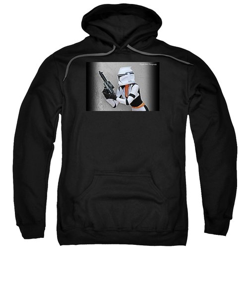 Star Wars By Knight 2000 Photography - Waiting Sweatshirt by Laura Michelle Corbin