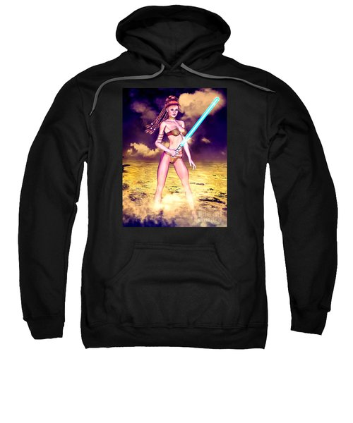 Star Wars Inspired Fantasy Pin-up Girl Sweatshirt
