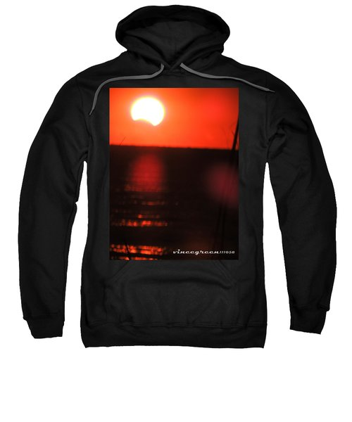 Staring Into A Star Eclipsed Sweatshirt