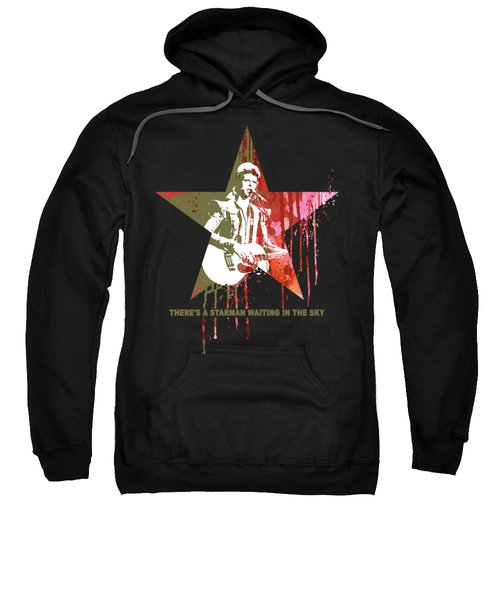 David Bowie - Starman #black Sweatshirt