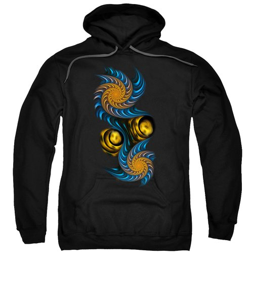 Starry Night - Fractal Art Sweatshirt