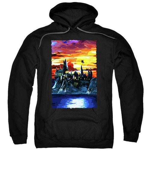 Starry Night Hogwarts Sweatshirt