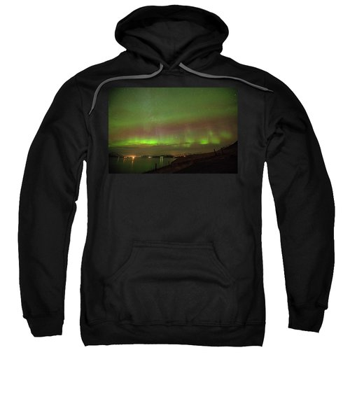 Stars And Northern Lights Sweatshirt