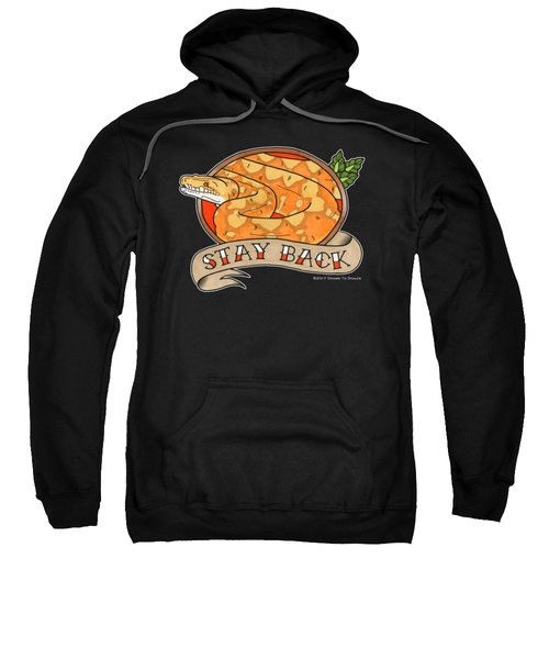 Stay Back Reticulated Python Sweatshirt