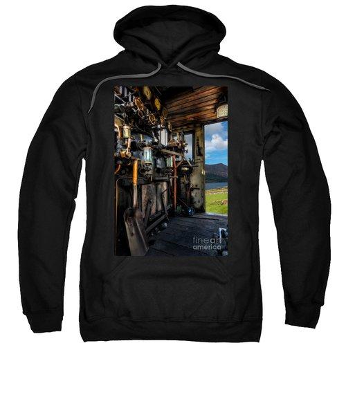 Steam Locomotive Footplate Sweatshirt