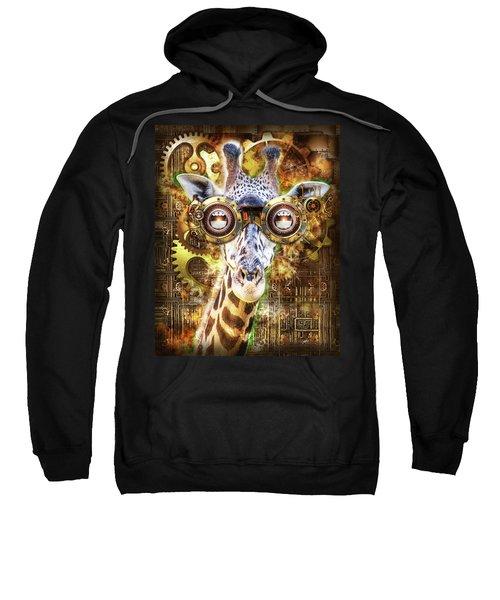 Steam Punk Giraffe Sweatshirt