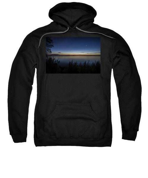 Steelworkers Park View At Dawn Sweatshirt