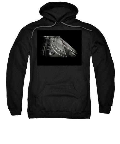 Steinway Guts Bw Sweatshirt