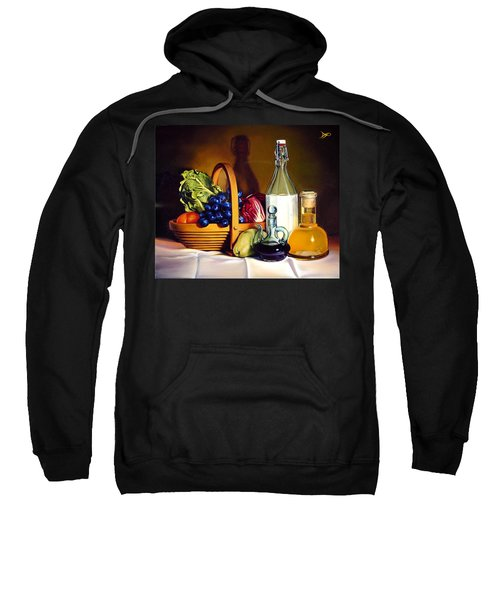 Still Life In Oil Sweatshirt by Patrick Anthony Pierson