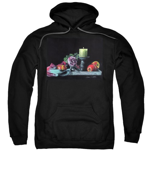 Still Life With Candle Sweatshirt