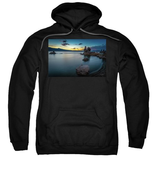 Stillness...mono Lake Sweatshirt
