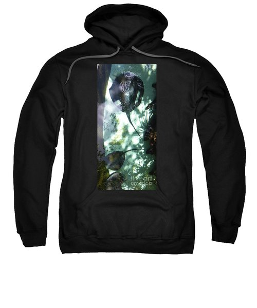 Sweatshirt featuring the photograph Stingray Swim V by Francesca Mackenney