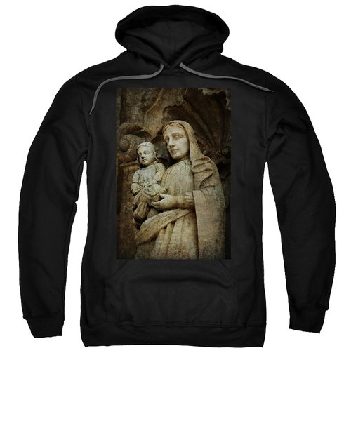 Stone Madonna And Child Sweatshirt
