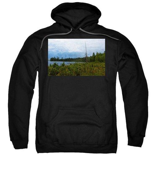Storm On Raquette Lake Sweatshirt